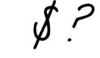 Sea Breeze Signature Style Script Font OTHER CHARS