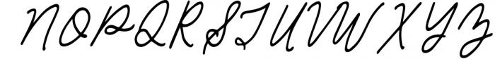Sea Breeze Signature Style Script Font UPPERCASE