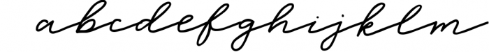 Sea Breeze Signature Style Script Font LOWERCASE