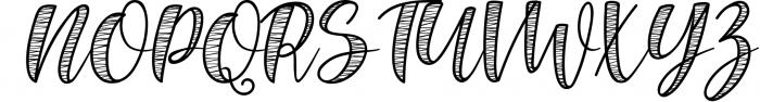 Selda Script Font Duo 1 Font UPPERCASE