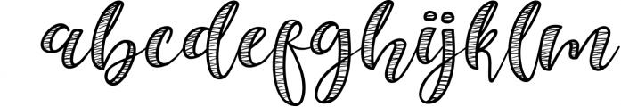 Selda Script Font Duo 1 Font LOWERCASE