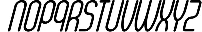 Senzi 4 Font UPPERCASE