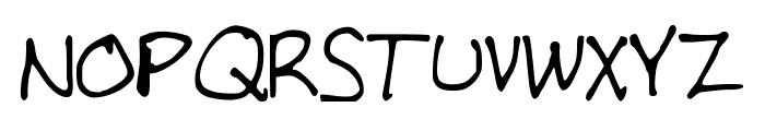 SEAVER Font UPPERCASE