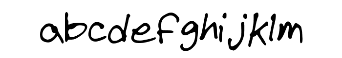 SEAVER Font LOWERCASE