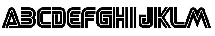 SEGA LOGO FONT Font UPPERCASE