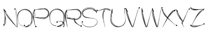SENSATION Font UPPERCASE