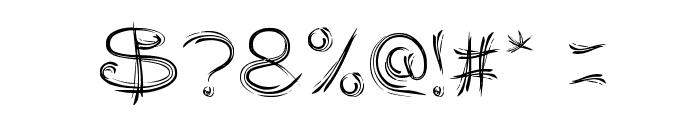 SERAT KAYU Font OTHER CHARS
