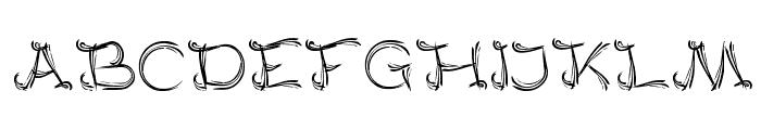 SERAT KAYU Font UPPERCASE