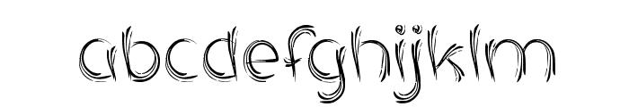 SERAT KAYU Font LOWERCASE