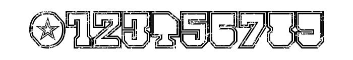 SERIAL-MKV1- Font OTHER CHARS