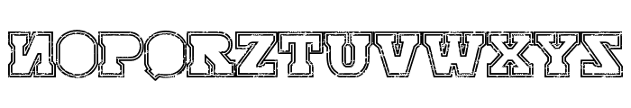 SERIAL-MKV1- Font UPPERCASE