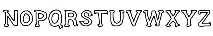 SERIES SLAB Font UPPERCASE