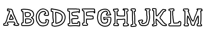 SERIES SLAB Font LOWERCASE