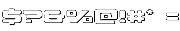 Sea-Dog Outline Font OTHER CHARS