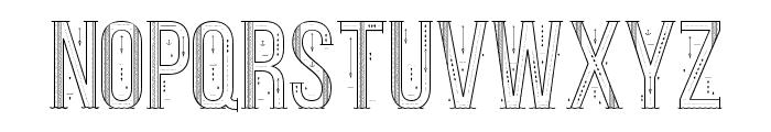 Sea Font Regular Font UPPERCASE