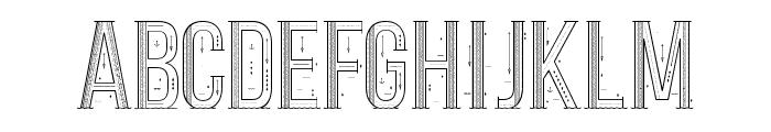 Sea Font Regular Font LOWERCASE