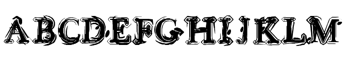 Sea Turtle Font UPPERCASE