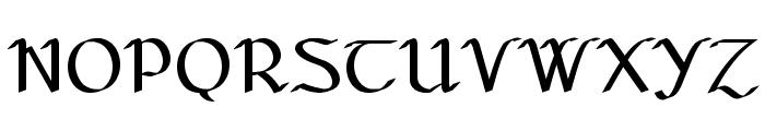 Seanchl? Font UPPERCASE