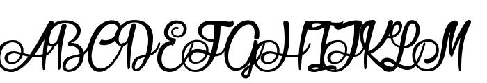 Seasider Font UPPERCASE
