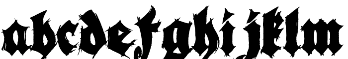 Season of the Witch Black Font LOWERCASE