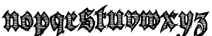 Season of the Witch Font LOWERCASE