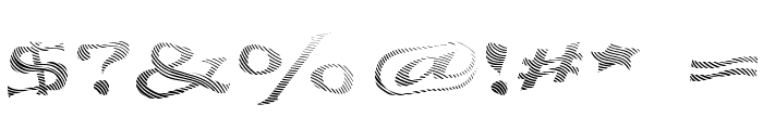 Seawave Extended Keyset Font OTHER CHARS