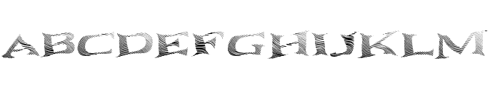 Seawave Extended Keyset Font UPPERCASE