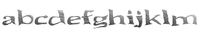 Seawave Extended Keyset Font LOWERCASE