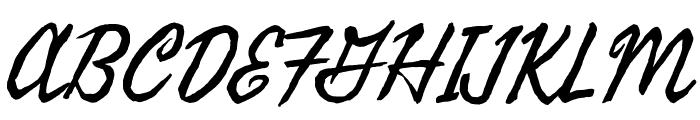 Seaweed Script Font UPPERCASE