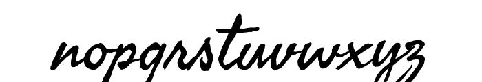 Seaweed Script Font LOWERCASE