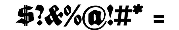 Sebaldus-Gotisch Font OTHER CHARS