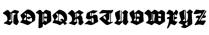 Sebaldus-Gotisch Font UPPERCASE