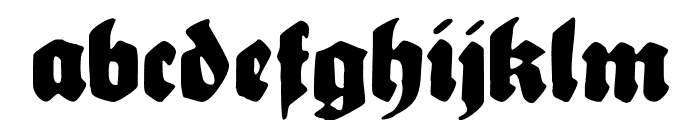 Sebaldus-Gotisch Font LOWERCASE