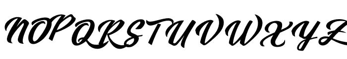 Sebastianapersonaluse Font UPPERCASE