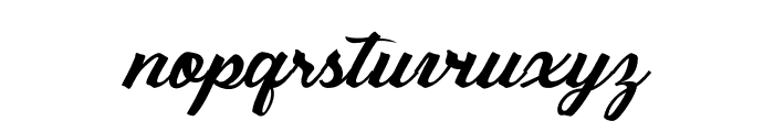 Sebastianapersonaluse Font LOWERCASE