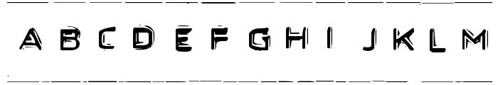 Secret Files Font UPPERCASE