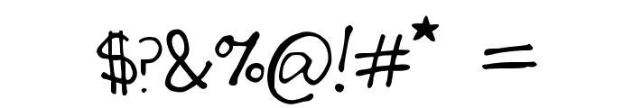 SecretSlob Font OTHER CHARS