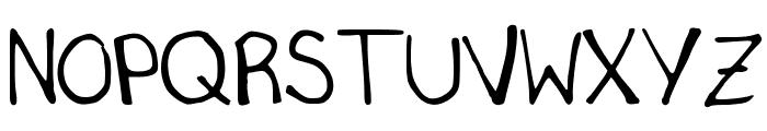 SecretSlob Font UPPERCASE