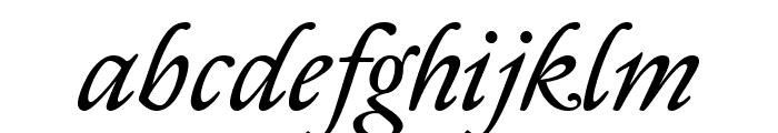Sedan Italic Font LOWERCASE