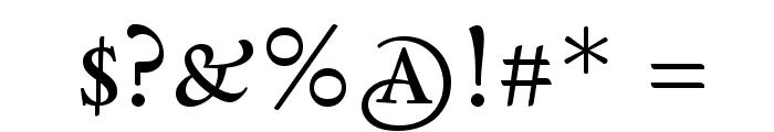 Sedan SC Font OTHER CHARS