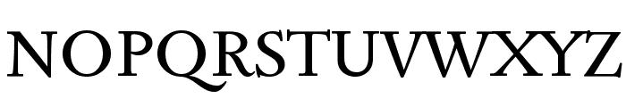 Sedan SC Font UPPERCASE