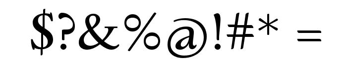 Sedan Font OTHER CHARS