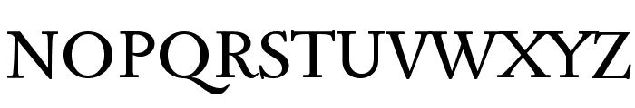 Sedan Font UPPERCASE