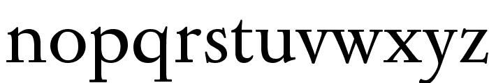 Sedan Font LOWERCASE