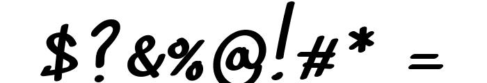 Sedgwick Ave Regular Font OTHER CHARS