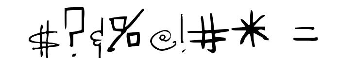 Sedillo Font OTHER CHARS