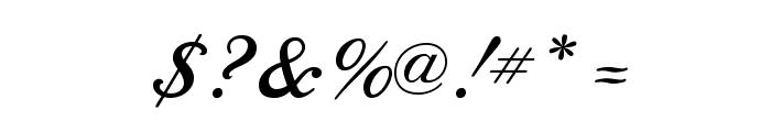 SedonaScriptFLF Font OTHER CHARS