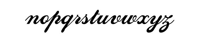SedonaScriptFLF Font LOWERCASE