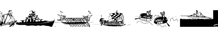 Seefahrer Font UPPERCASE
