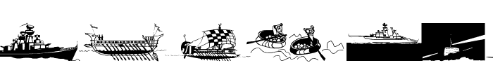 Seefahrer Font LOWERCASE